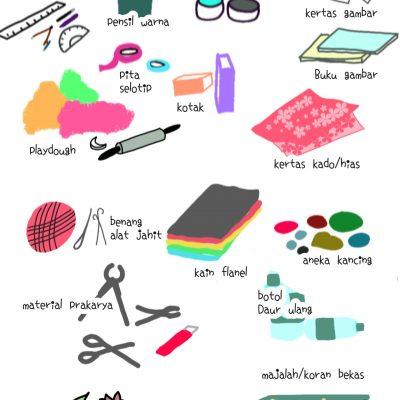 Apa Saja yang Saya Siapkan Untuk Mengembangkan Kreativitas Anak